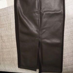 Black ASOS pencil skirt